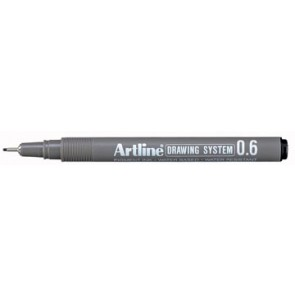 Fineliner Drawing System 0,6 mm