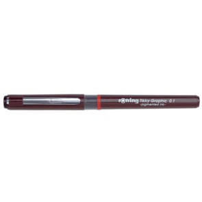 Rotring fineliner Tikky Graphic 0,1 mm