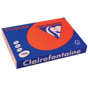 Clairefontaine Trophée Intens A3, 160 g, 250 vel, koraalrood