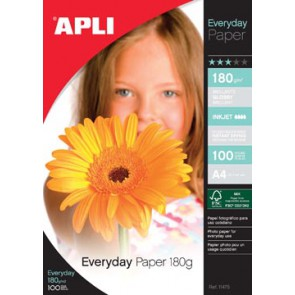 Apli fotopapier Everyday ft A4, 180 g, pak van 100 vel