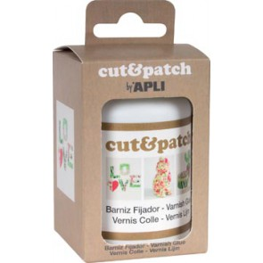 Apli vernislijm Cut & Patch, flacon van 100 ml