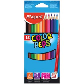 Maped kleurpotlood Color'Peps, 12 potloden