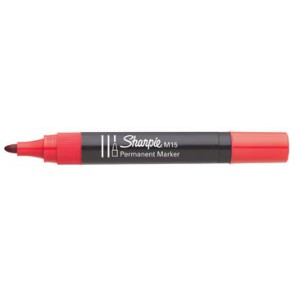 Sharpie permanent marker M15 rood