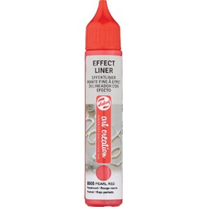 Talens Art Creation effect liner, parel rood