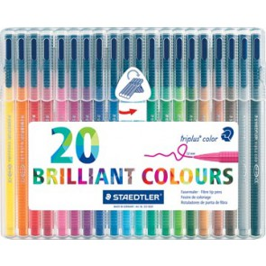 Staedtler viltstift Triplus Color 20 stiften