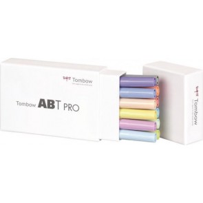 Tombow ABT PRO set van 12 Pastel Colors