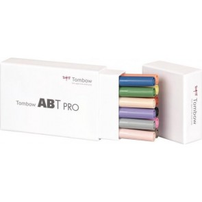 Tombow ABT PRO set van 12 Basic Colors