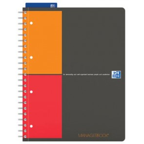 Oxford INTERNATIONAL Managerbook, ft A4+, 160 bladzijden