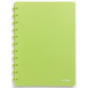 Atoma schrift Trendy ft A4, geruit 5 mm, transparant groen