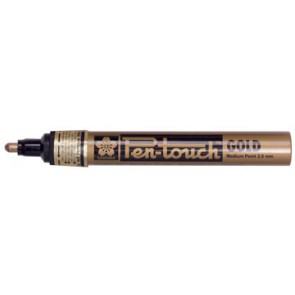Sakura paint Marker Pen-Touch punt van 2 mm, goud