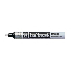 Sakura paint Marker Pen-Touch punt van 2 mm, wit