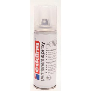 Edding Permanent Spray 5200 transparante lak, 200 ml, glans