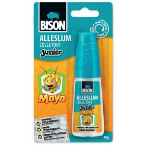 Bison Junior Maya alleslijm 40 g, op blister