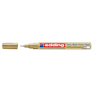 Edding glanslakmarker e-780 CR goud