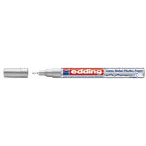 Edding glanslakmarker e-780 CR zilver