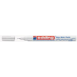 Edding glanslakmarker e-780 CR wit