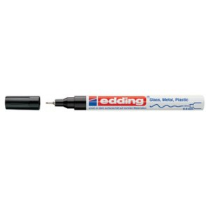 Edding glanslakmarker e-780 CR zwart