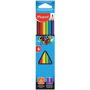Maped kleurpotlood Color'Peps, 6 potloden