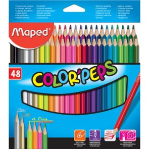 Maped kleurpotlood Color'Peps, 48 potloden