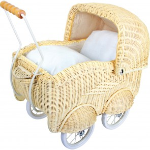 Small Foot Mand Poppenwagen, groot