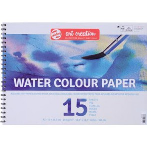 Talens Art Creation aquarelpapier, 240 g/m², ft A3, blok met 15 vellen