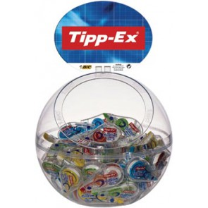Tipp-Ex Mini Pocket Mouse Fashion, bubble met 40 stuks