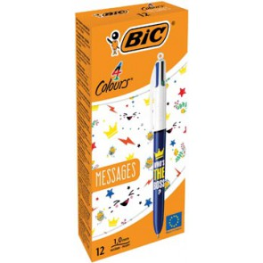 Bic balpen 4 Colour Messages, Who's the boss?