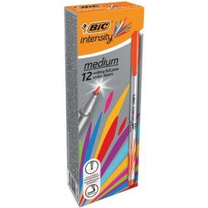 Bic fineliner Intensity, medium, oranje