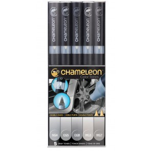 Chameleon 5-Pen Gray Tones CT0509