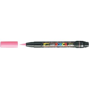 uni-ball Paint Marker op waterbasis Posca Brush roze