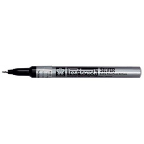 Sakura paint Marker Pen-Touch punt van 0,7 mm, zilver